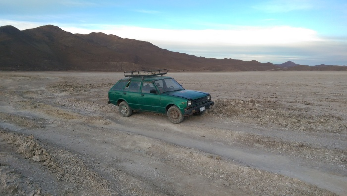 Rescue car, Salar de Uyun