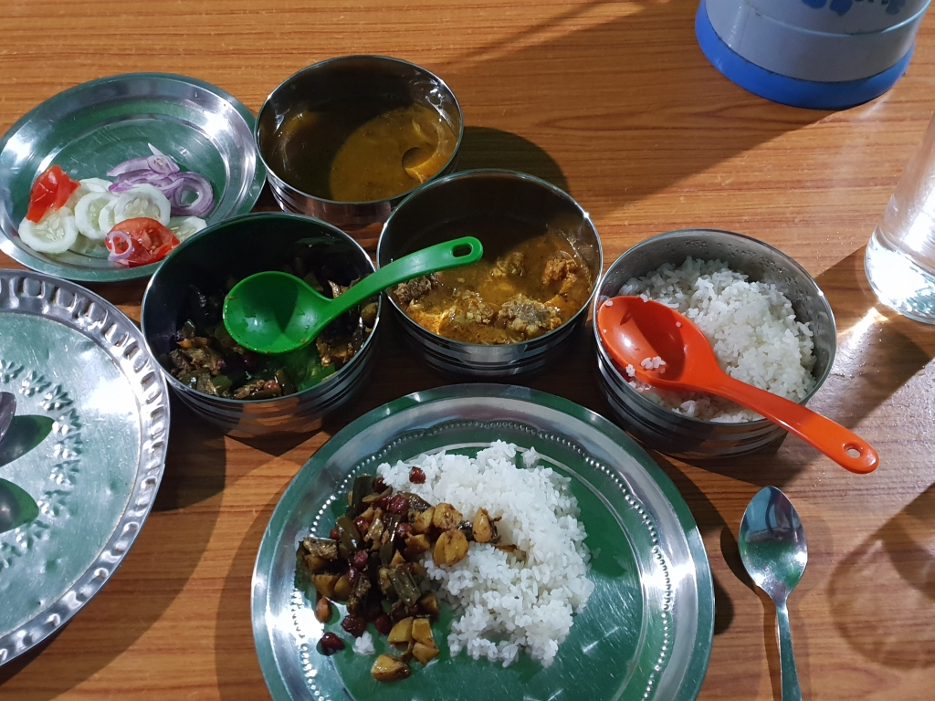 Mr Maipakchao homestay dinner