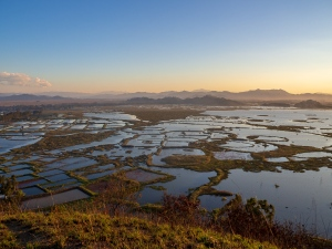 Sunset at Loktak Lake