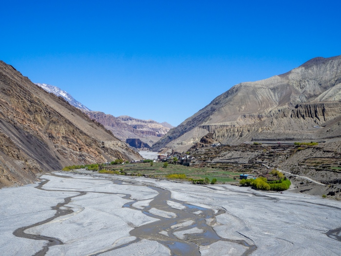 Towns in Jomsom valley