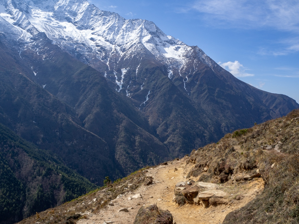 Trail in Sagarmatha National Park